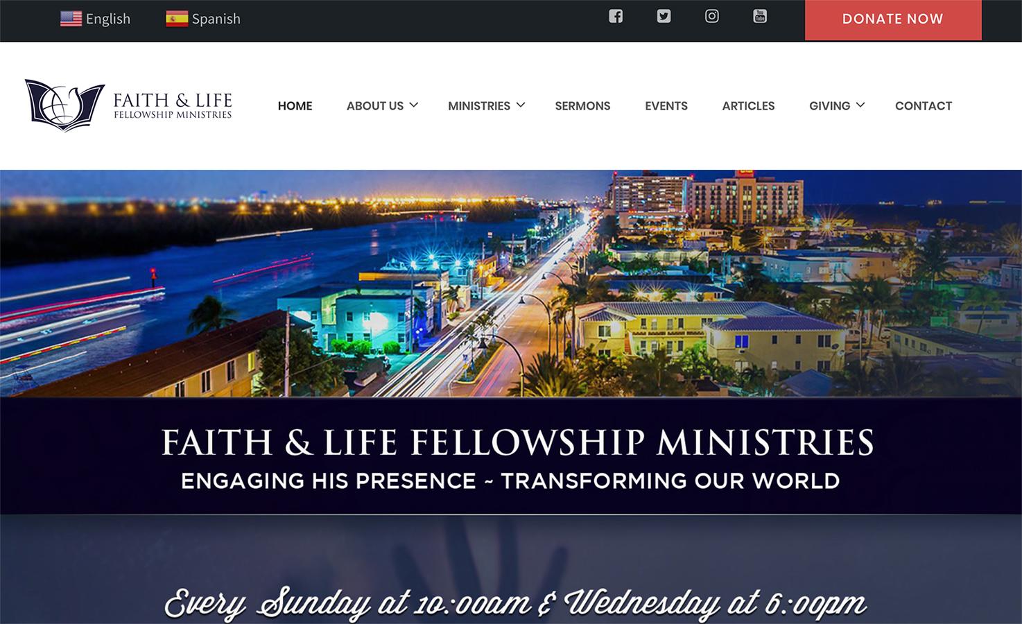 Home - Faith & Life Fellowship Ministries